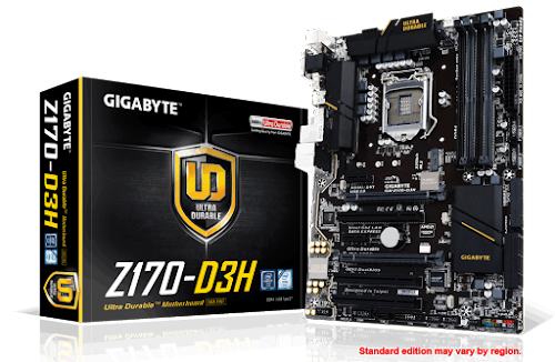 Download Drivers Gigabyte GA-Z170-D3H