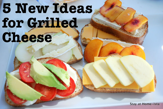 5 New Ideas for Grilled Cheese Sandwiches