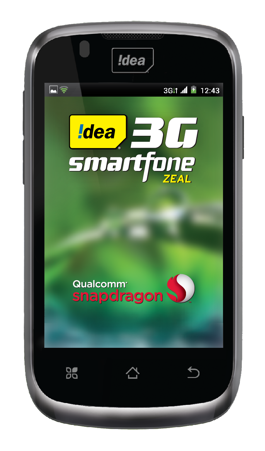 Idea Zeal 3g Smartphone Available At Rs 5390 Telecom