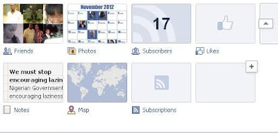 Expanded Tabs on Facebook Timeline