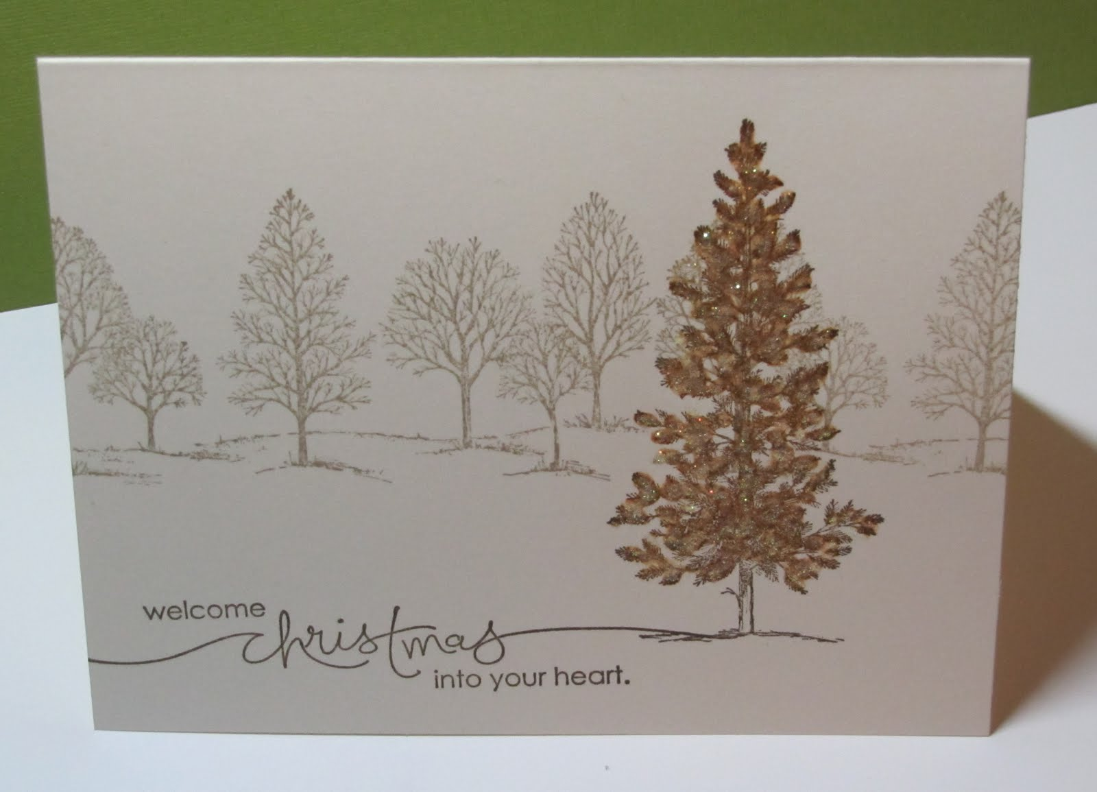 Stamp With Me Quick And Easy Lovely As A Tree Card