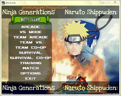 Naruto Shippuden Ninja Generations PC Games