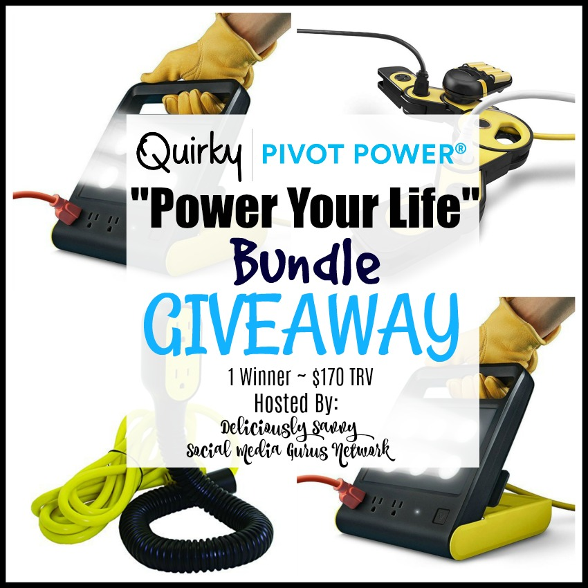 Quirky Power Pivot Giveaway
