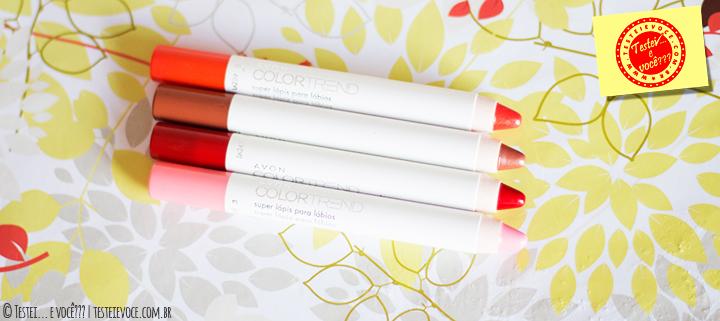 Super Lápis para Lábios ColorTrend – Avon