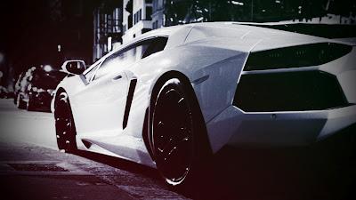 Lamborghini Aventador Car Old Looking Photo HD Wallpaper