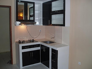 Dapur Minimalis Simple Modern