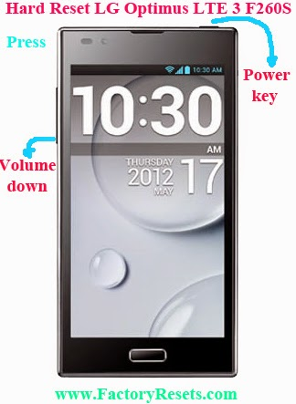 Hard Reset LG Optimus LTE 3 F260S