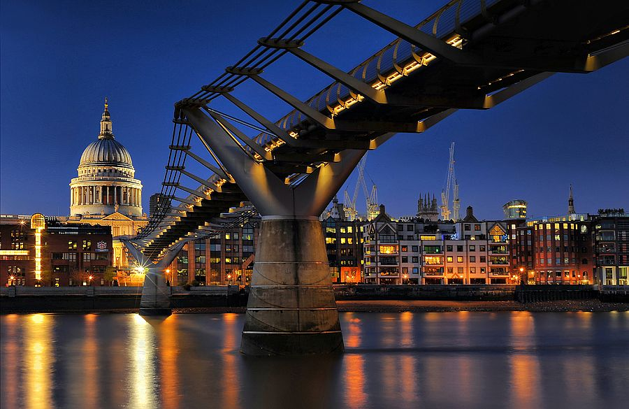 1. Millennium Bridge  by Aubrey Stoll