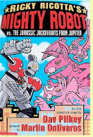 bookcover of Ricky Ricotta's Mighty Robot vs. The Jurassic Jackrabbits From Jupiter