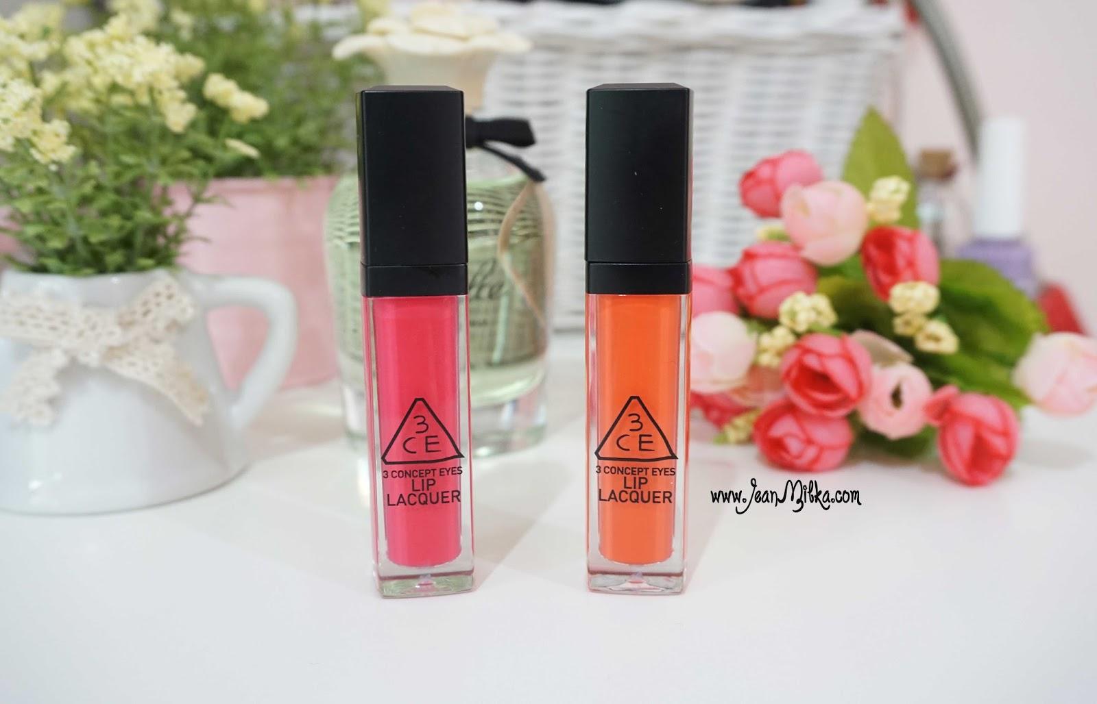 3ce lip lacquer