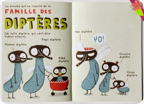 La mouche d'Elise Gravel - éditions Le Pommier