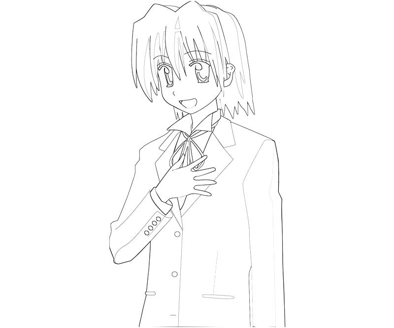 printable-hayate-ayasaki-character-coloring-pages