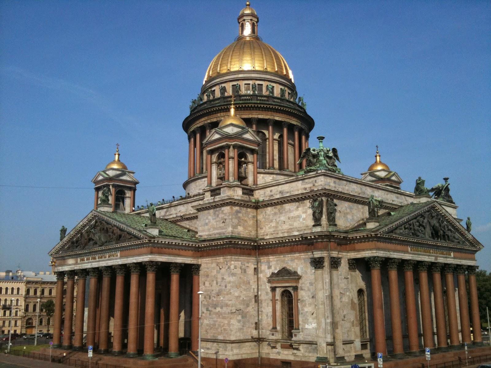 Catedral de San Isaac de San Petersburgo