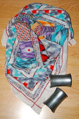 foulard tendance aztèque