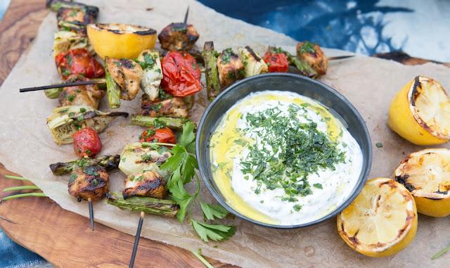 recette,eye-swoon,poulet marocain aux herbes et au yaourt,cuisine