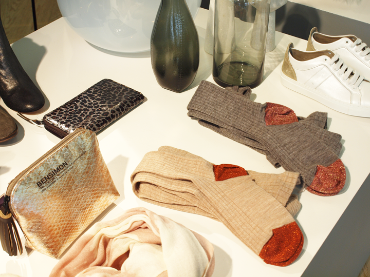 Chaussettes à paillettes Bensimon