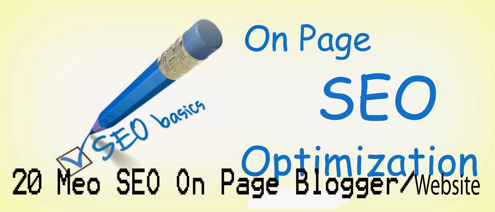 SEO On Page Blogger/Blogspot