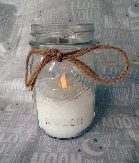 Candle Winter Wonderland Jar