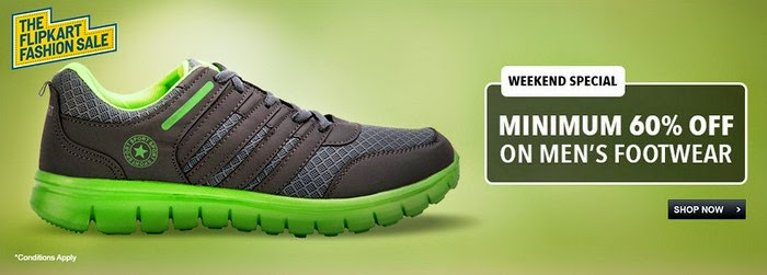 Men's Footwear - MINIMUM 60% OFF