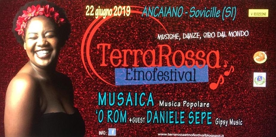 TerraRossa Etnofestival 22 GIUGNO 2019
