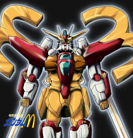 Gundam Double X McDonald