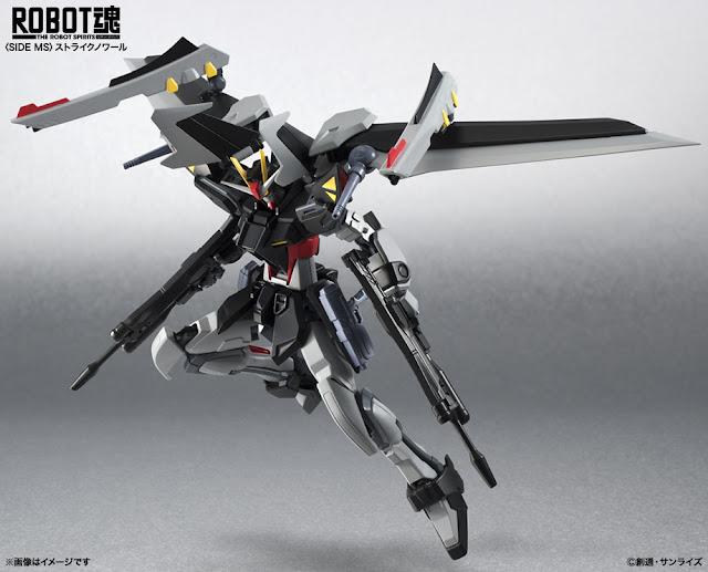 Robot Damashii Strike Noir Gundam Stargazer
