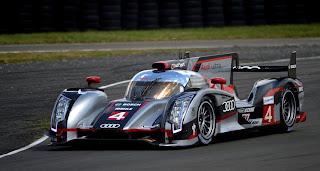 Audi R18 Ultra Tag Heuer n°4 d'Audi Sport North America