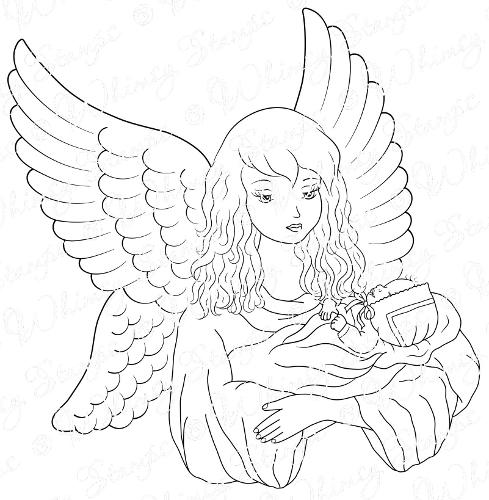 Line Drawing Angel : Christmas angel line drawings new calendar template