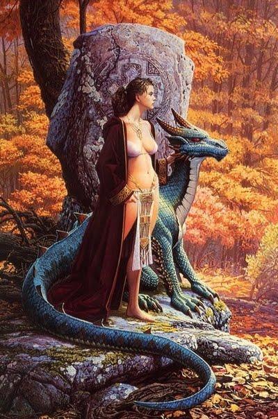 Druids Stone Fantasy Artist Keith Parkinson