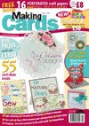I am  a regular designer for Making Cards magazine: