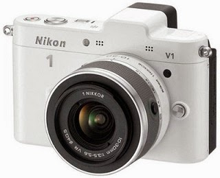 Lowest Price Deal: Nikon 1 V1 Mirrorless Camera (White, Body with 10-30 mm Lens) worth Rs.38950 for Rs.19999 Only @ Flipkart