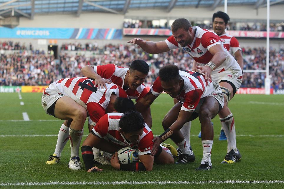 Histórica victoria de Japón ante Sudáfrica