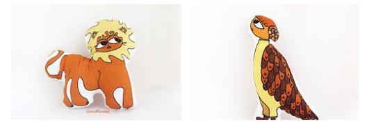 Folk art - poupée naive par cocoflower