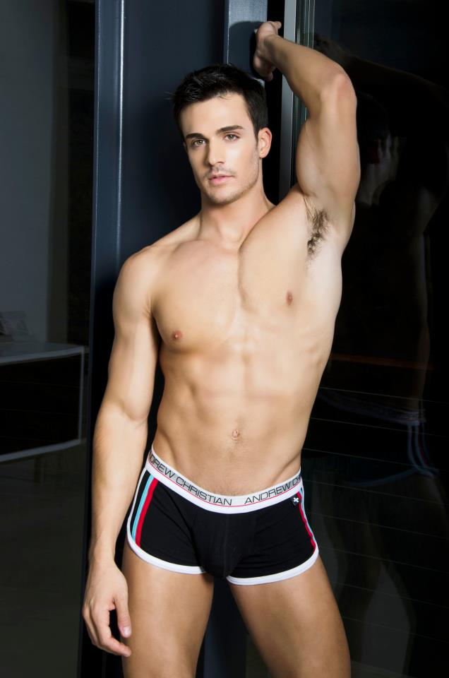 Philip Fusco For Andrew Christian Underwear Male Models Of The World