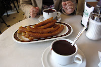 Chocolate con churro