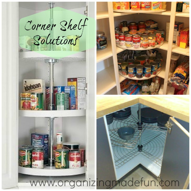 Omf To The Rescue Weird Corner Closet Shelf Organizing
