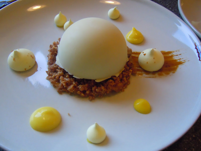 citron dessert med marengs