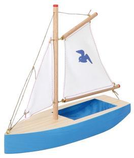 spielzeug f r kinder holzboot mit kindern basteln. Black Bedroom Furniture Sets. Home Design Ideas