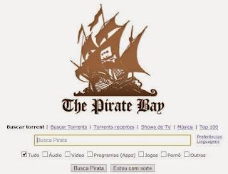 The Pirate Bay mudou de dominio