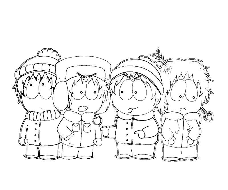 cartman south park coloring pages - photo#16
