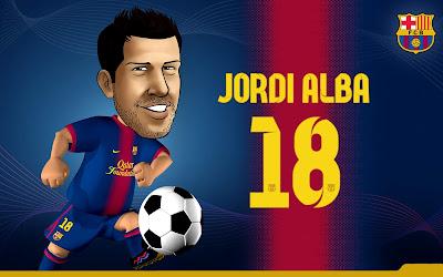 Jordi Alba Wallpapers 2012-2013