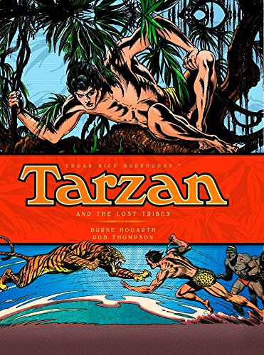 TARZAN by BURNE HOGARTH!