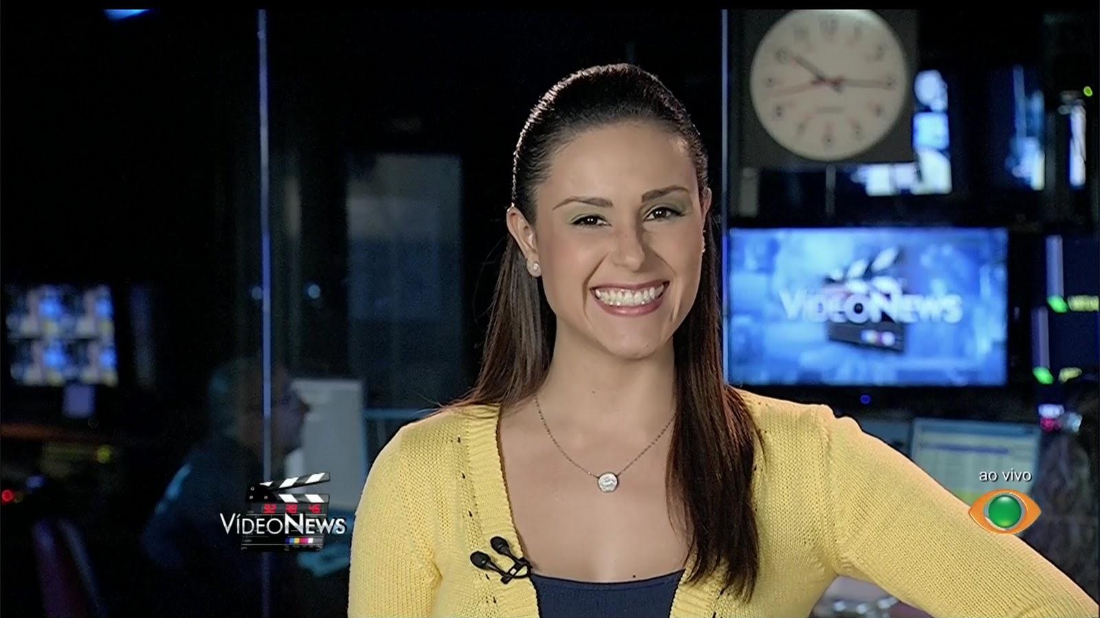 Nadja Haddad renova contrato e continua na TV Bandeirantes