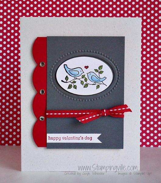 Stampin' Up! Easy Events Stamp Set Love Birds