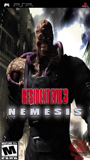 Resident Evil 3 Скачать Psp