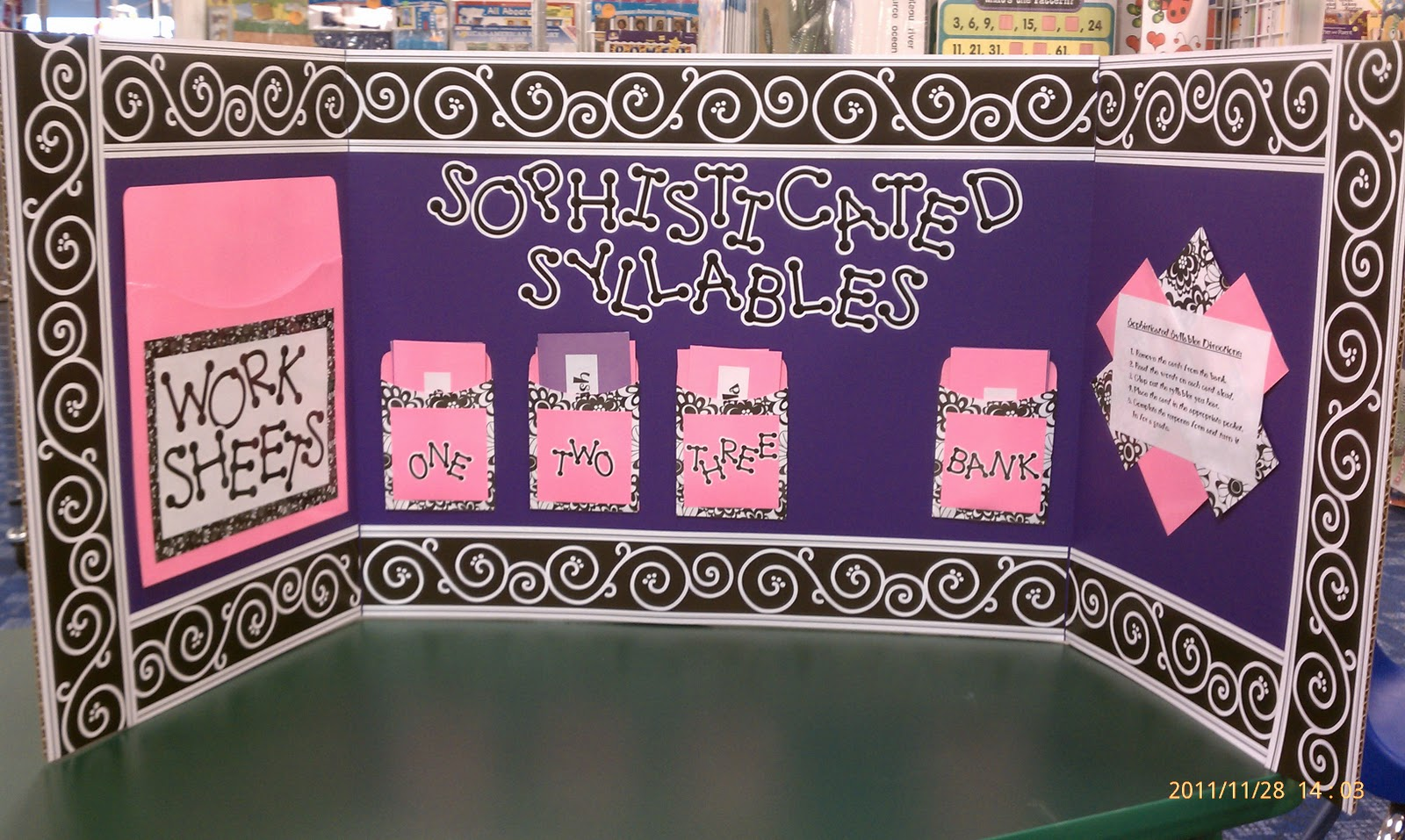 better bulletin boards sophisticated syllables