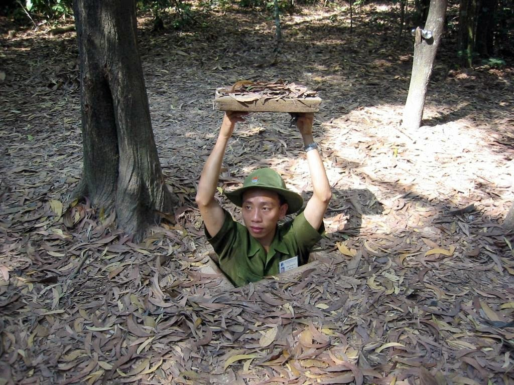 how to go to cu chi tunnel vietnam