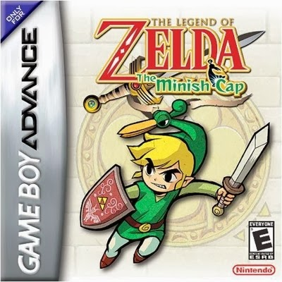 Zelda The Minish Cap Psp - Español