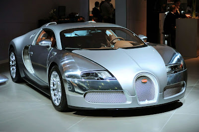 2010 Bugatti Veyron Sang d'Argent Special Edition