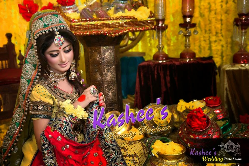 Kashee Bridal Mehndi : Sajjal ali latest bridal photo shoot by kashee s beauty parlor